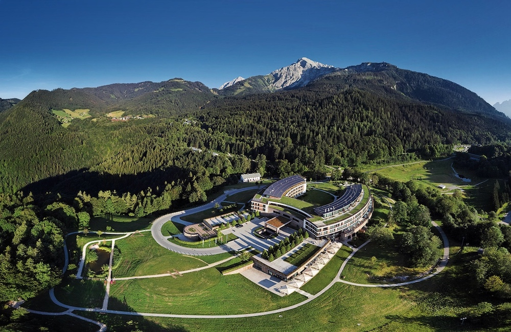 Lage des Kempinski Hotel Berchtesgaden