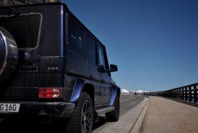 Fahrvergnügen mit 580 PS: <br>Mercedes AMG G 63</br>