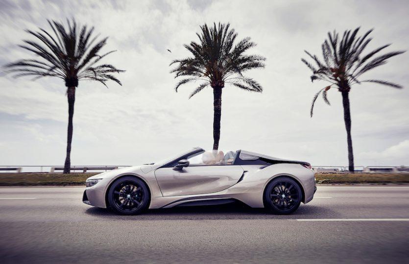 Verleiht Flügel: BMW i8 Roadster