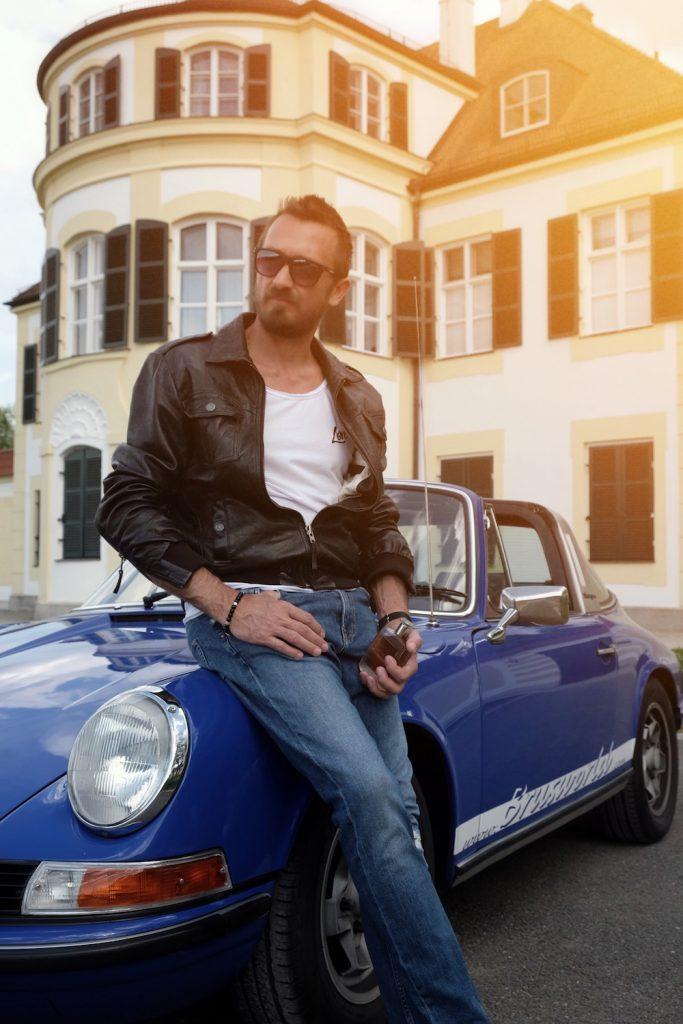 Italienische Stimmung mit Porsche und Trussardi