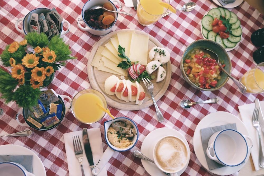Altes Wallberghaus Frühstück