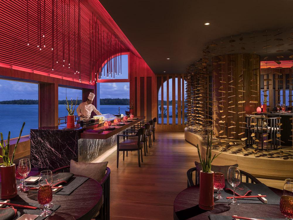 Kushi Restaurant Shangri-la Le Touessrok Mauritius