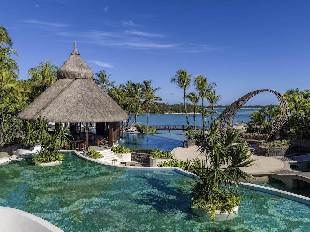 Hotelanlage Shangri-la Le Touessrok Mauritius
