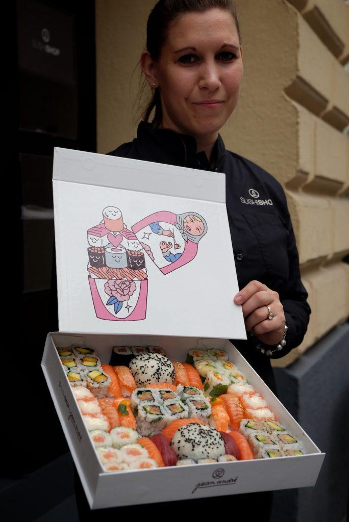 Sushi Shop Russland Box