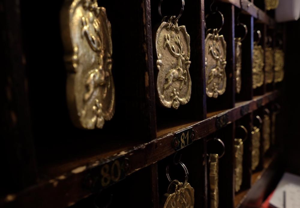 Hotel Goldener Hirsch Salzburg Rezeption