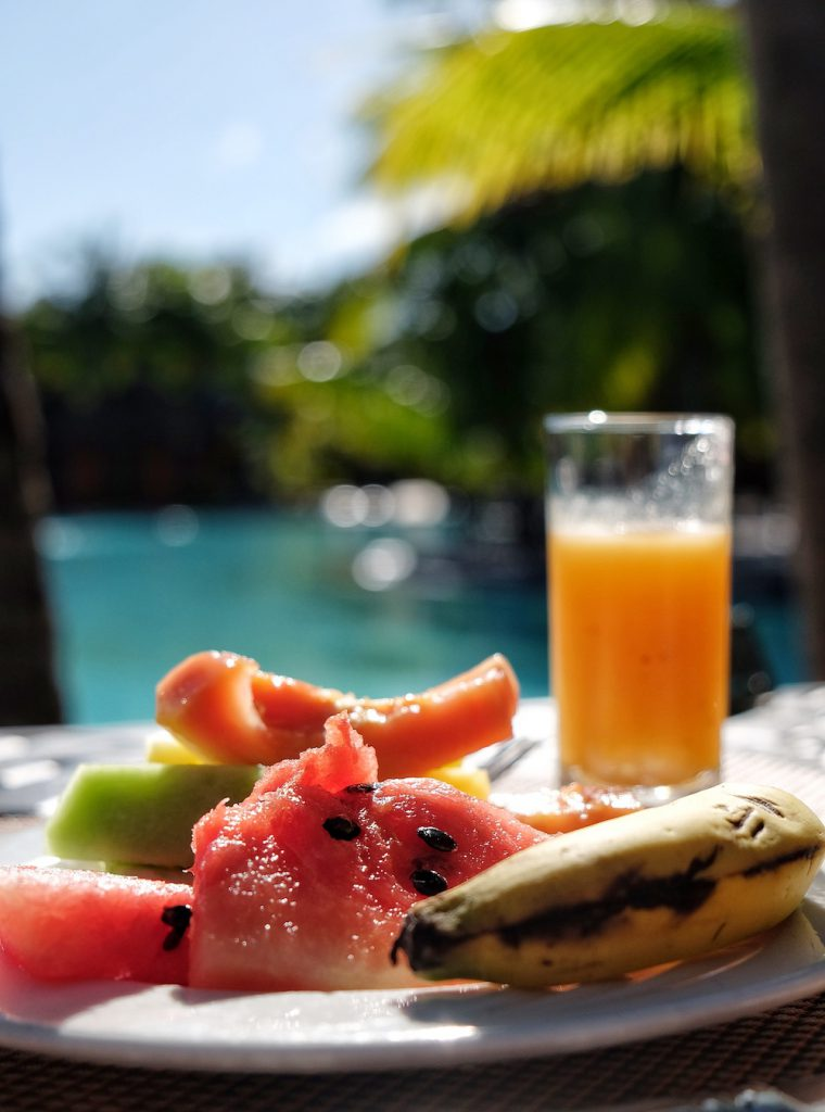 Beachcomber Dinarobin Mauritius Fruehstueck