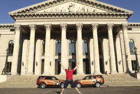 In 70 Tagen um die Welt &#8211; <br>mit dem Land Rover Discovery</br>
