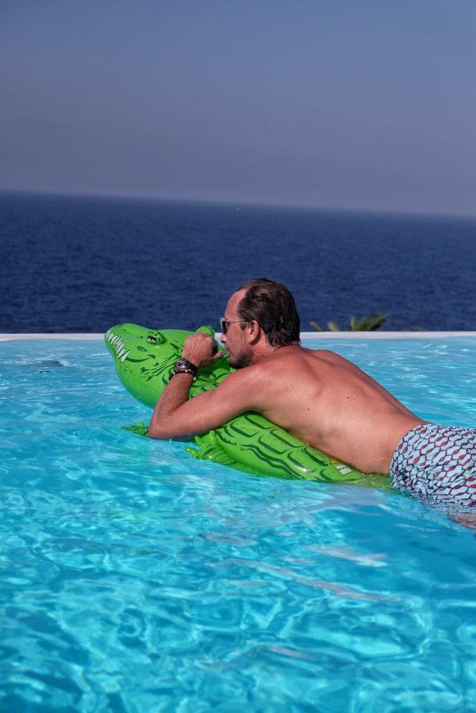Ikaria Toxotis Villas Pool
