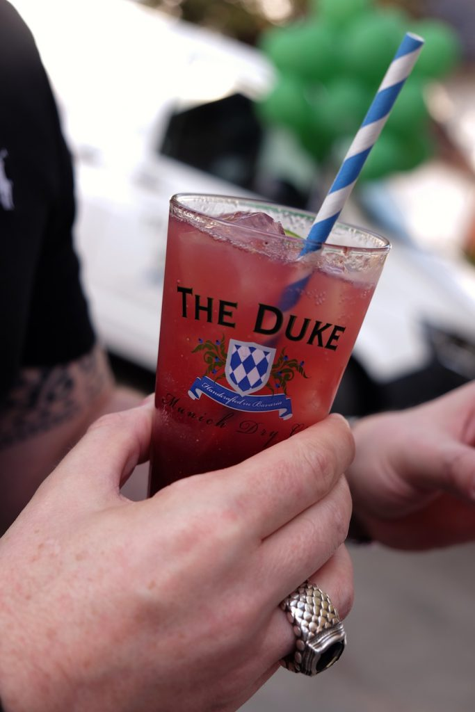 The Duke gin Drink