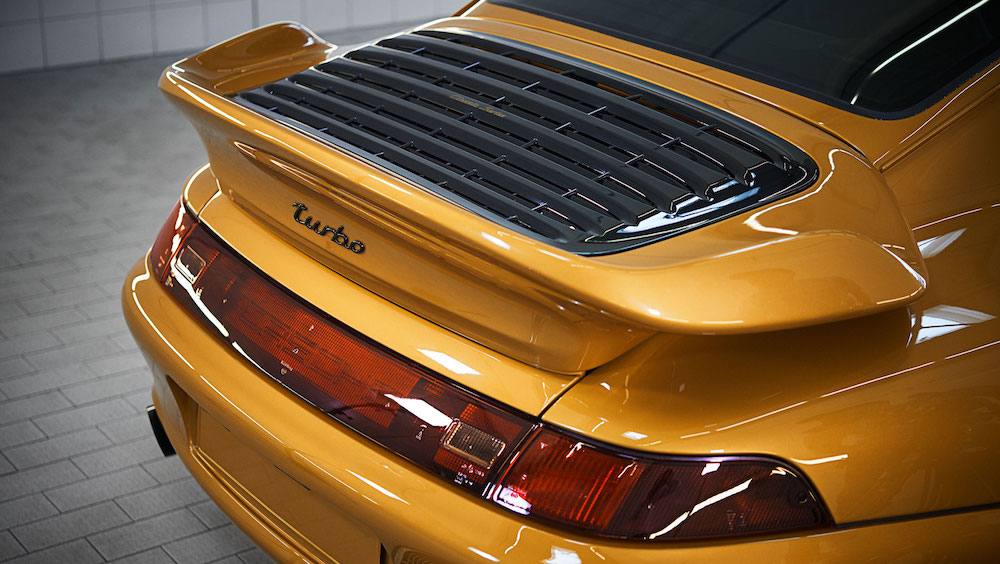 911 Turbo Typ 993 Project Gold