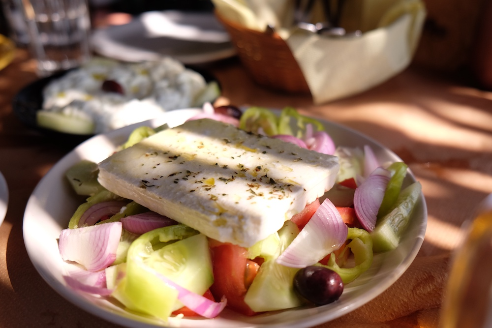 Griechischer Salat Taverna Nas