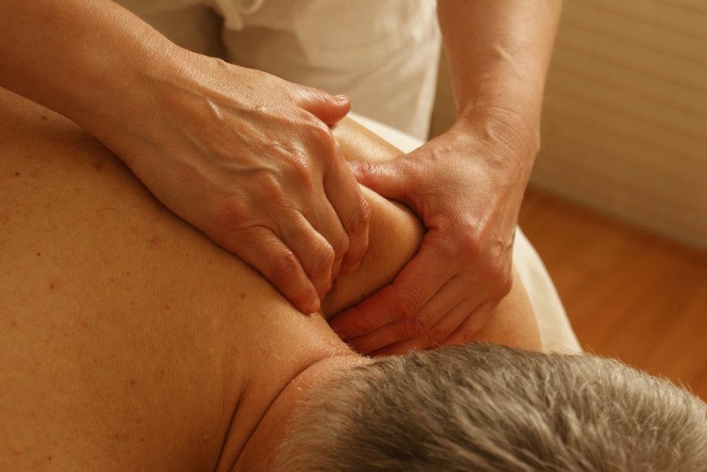 Massage Ruecken