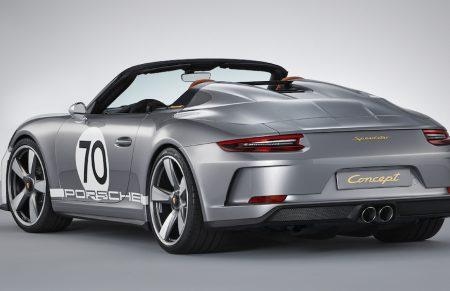 Sondermodell auf Speed: <br>911 Porsche Speedster</br>