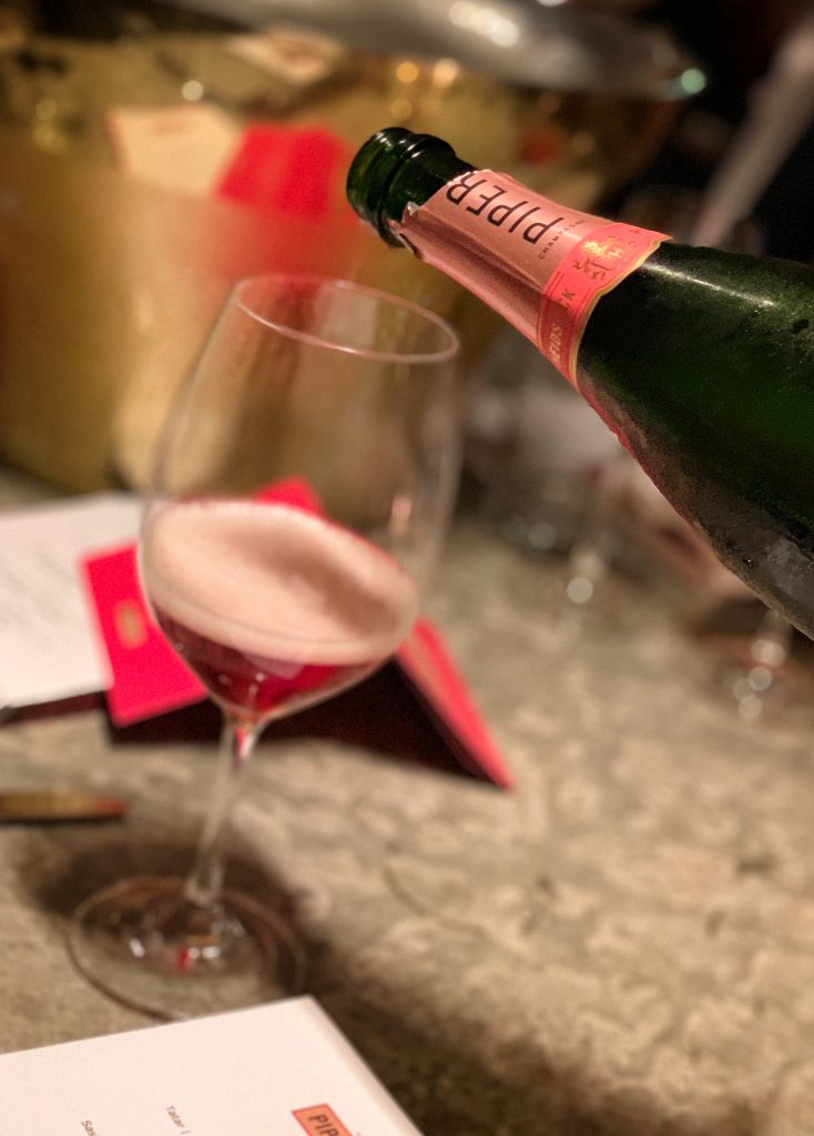 Champagner Piper Heidsieck Rose Sauvage