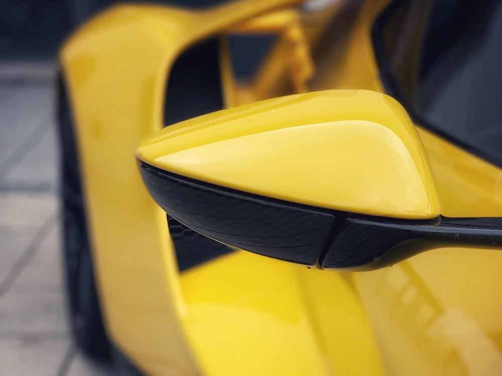 Detail Rückspiegel Ford GT