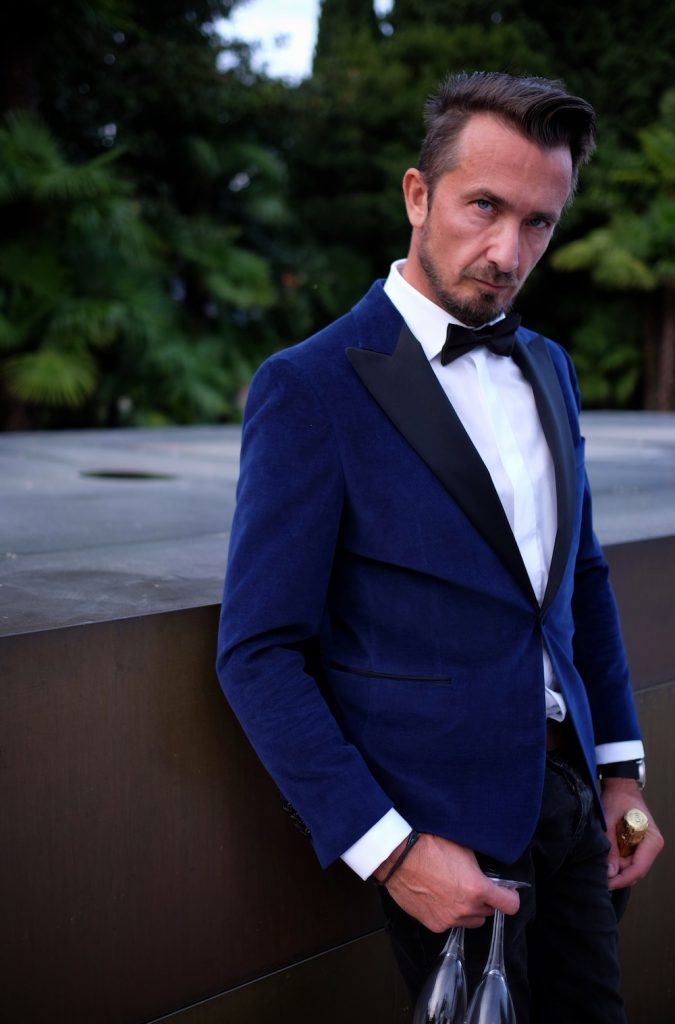 Eduard Dressler Dinner Jacket blau