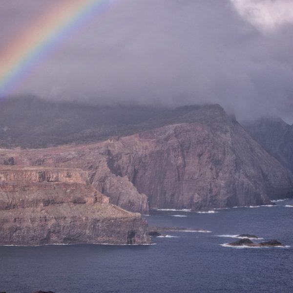Insel Madeira Felskueste Norden
