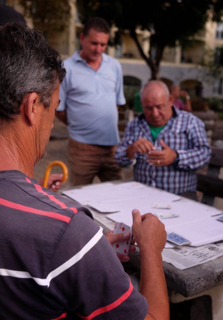 Madeira Kartenspieler