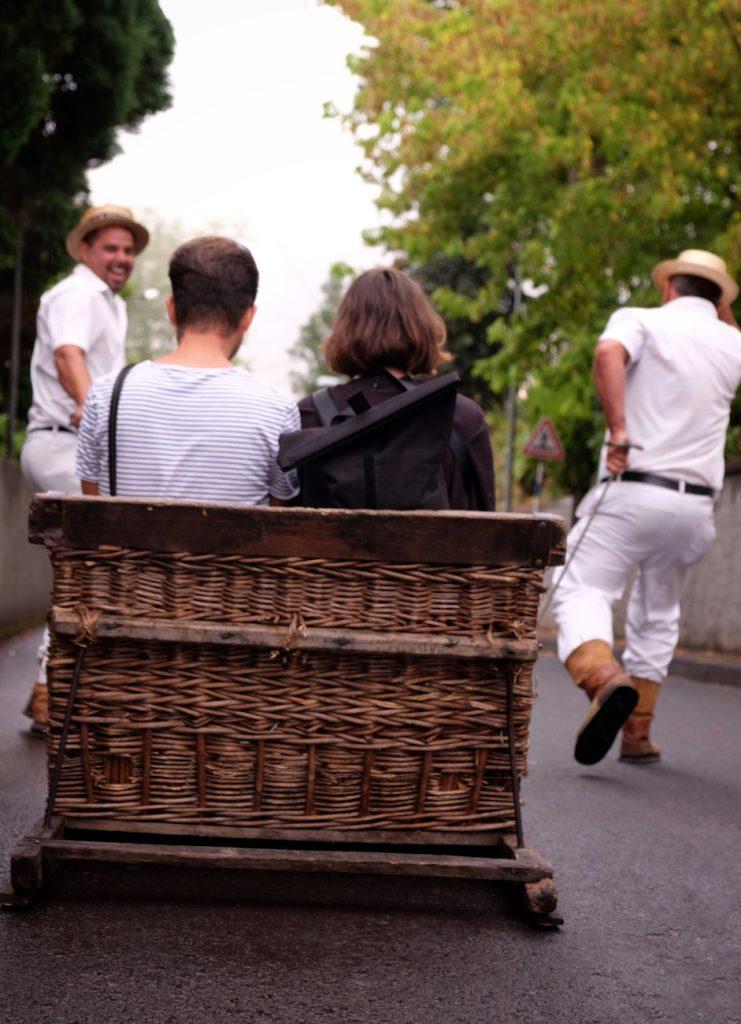 Madeira Korbschlittenfahrt