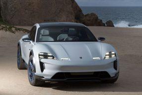 Volle Elektro-Power: der Porsche Taycan