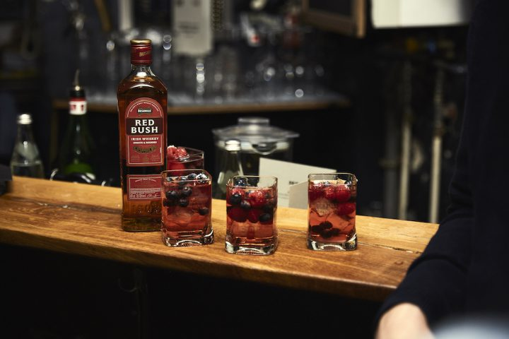 Autumn Red Rose Lemonade_bushmills whiskey