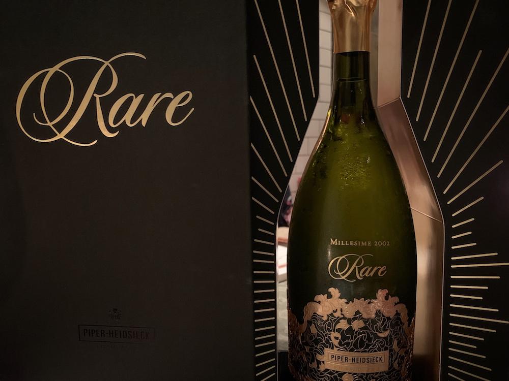 Champagner Piper Heidsieck Rare Jahrgangschampagner