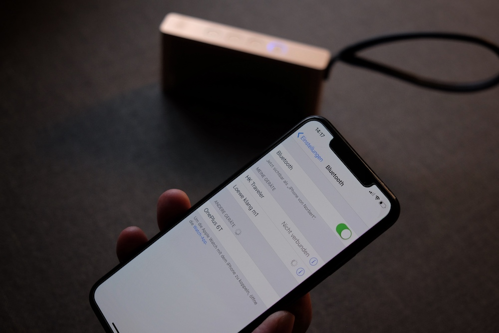 Loewe Klang M1 Bluetooth Lautsprecher Funktion