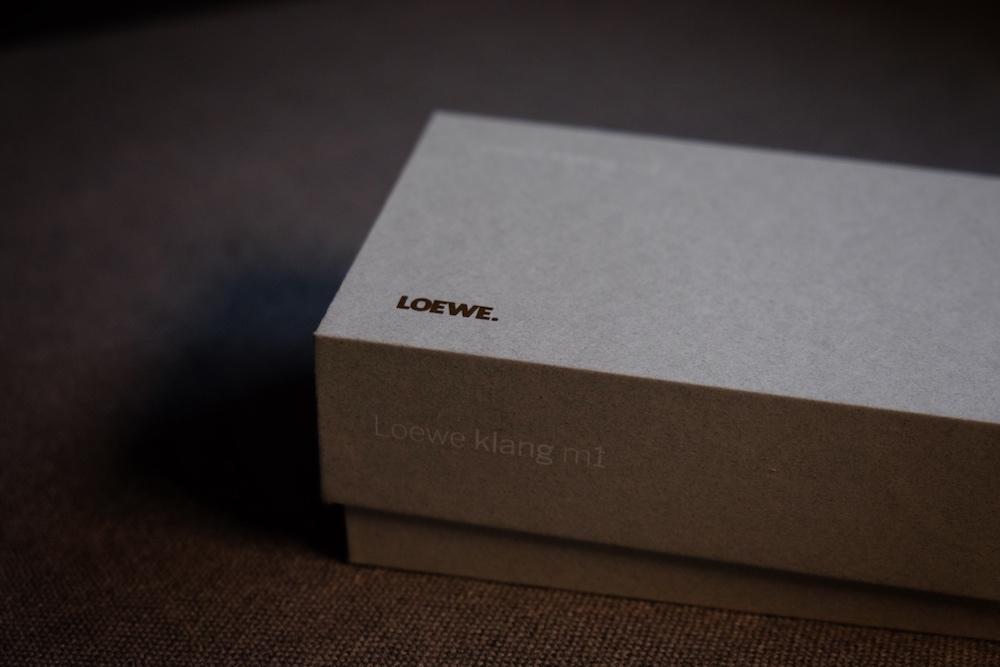 Loewe Klang M1 Bluetooth Lautsprecher Verpackung