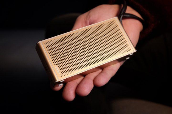 Loewe Klang m1 Bluetooth Lautsprecher rosegold