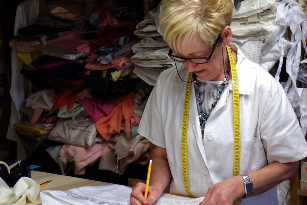Atelier Schneiderin Loretta Caponi