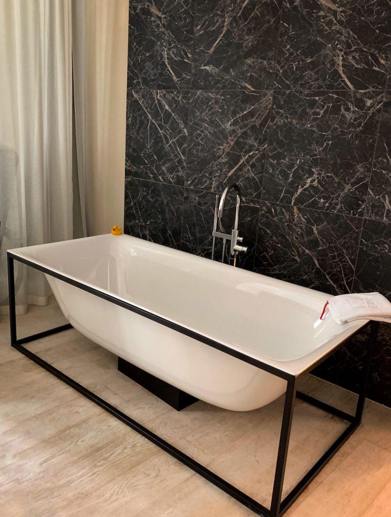 Hotel Altstadt Vienna Suite Badewanne