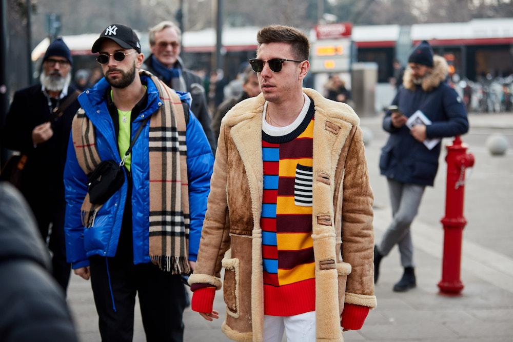 Pitti Immagine Uomo 95_ Pitti People Outdoor Farbe