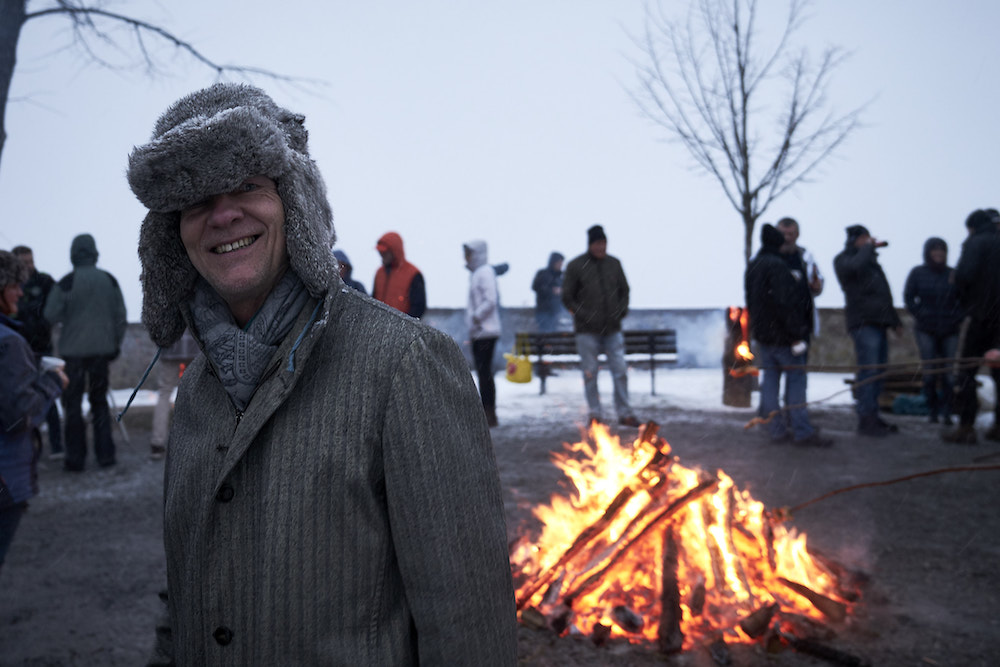 Schwarzwald Winter Challenge 2019 BBQ