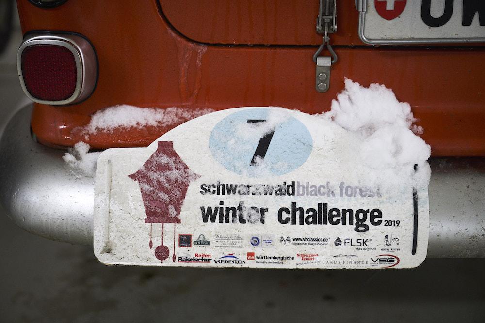 Schwarzwald Winter Challenge 2019 Detail
