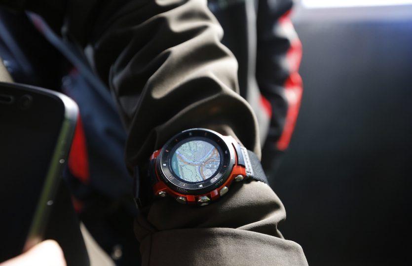 Smart durch den Schnee &#8211; <br>mit der Casio Pro Trek WSD-F30</br>