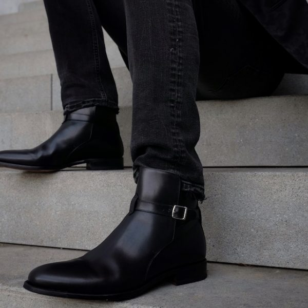Scarosso Jodhpur Boots black