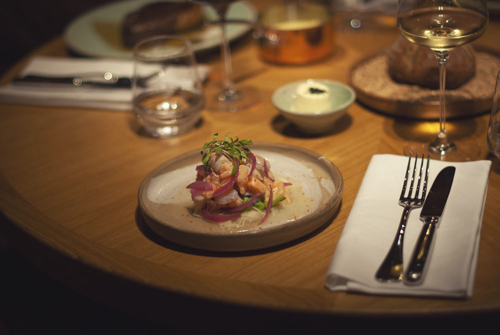 The Louis Grillroom Ceviche