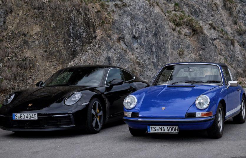Rasanter Vergleich: <br>Porsche F-Modell vs. neuer 911</br>