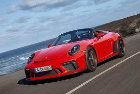 Purer Fahrspass: Porsche 911 Speedster
