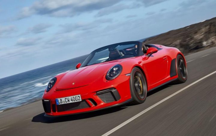 porsche 911 speedster form