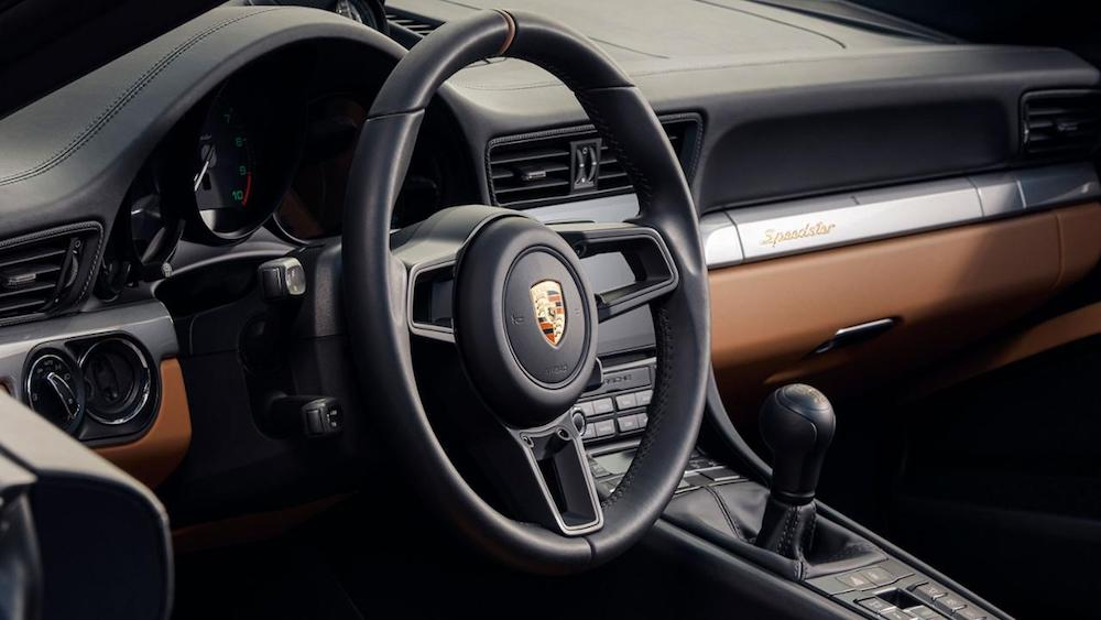 porsche 911 speedster heritage innen
