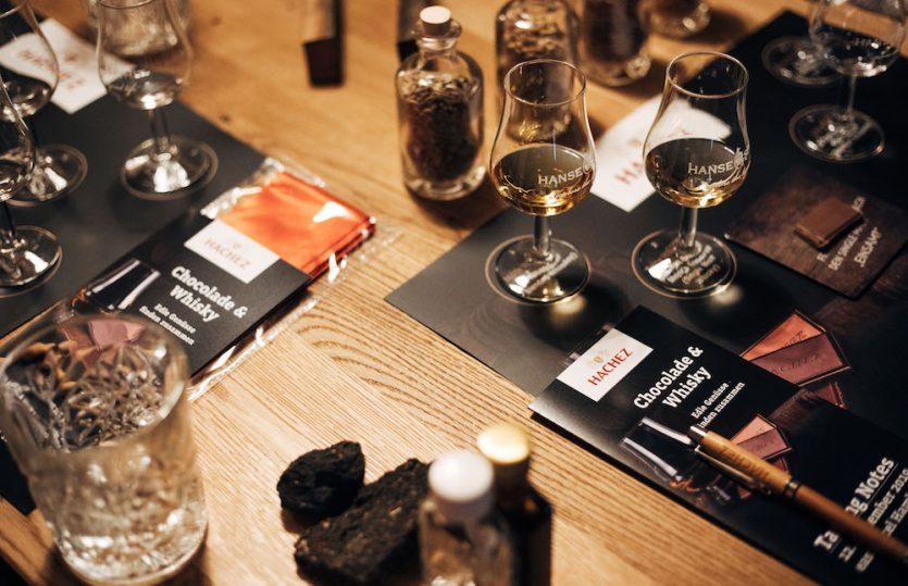 Life tastes better with Hachez – und Whisky!