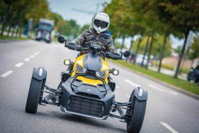 Fahrspass auf drei Rädern: <br>Can-Am Ryker</br>