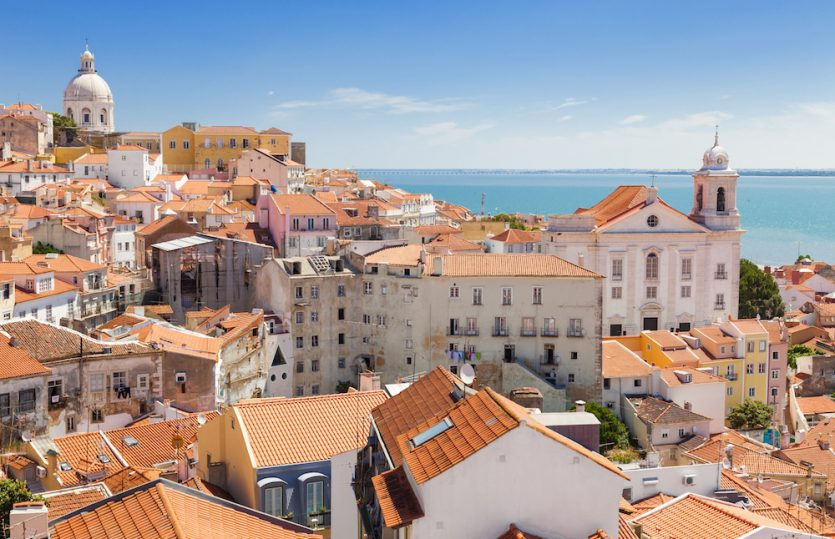 Alles ist erleuchtet: Lissabon