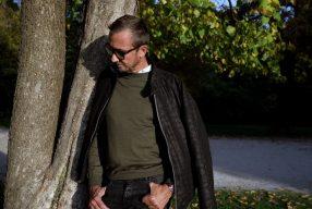 Wollig warm: <br>Woll-Blouson von Eduard Dressler</br>