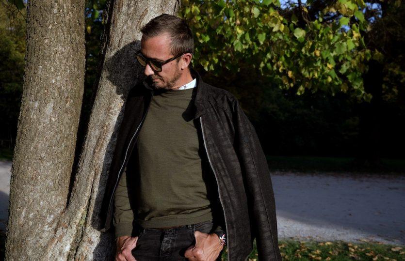 Wollig warm: <br>Blouson von Eduard Dressler</br>