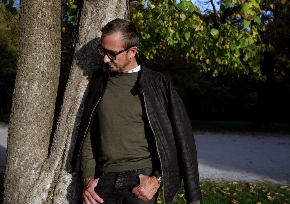 Woll-Blouson Eduard Dressler Camouflage