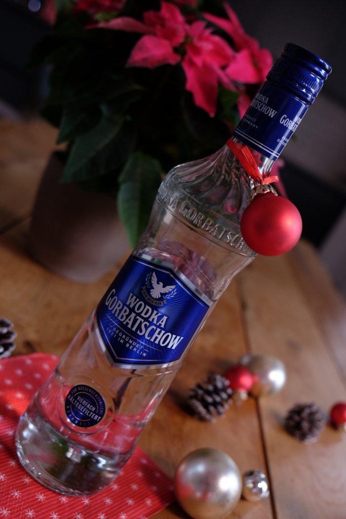 Wodka Gorbatschow Flasche nah