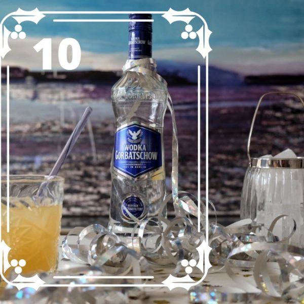 Wodka-Gorbatschow-Silvsterdrink