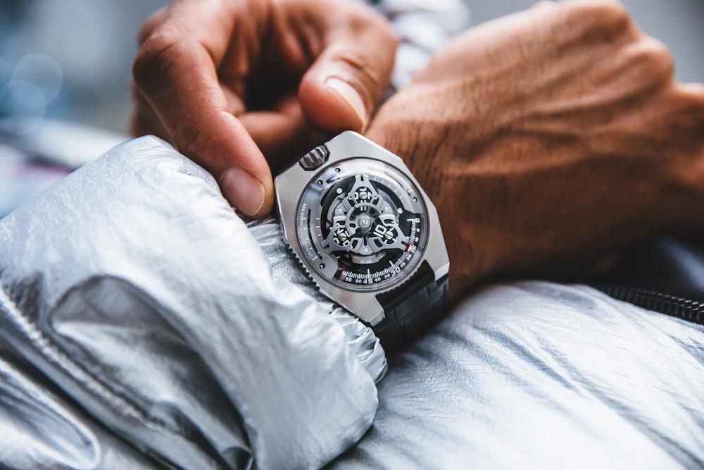 Urwerk Spacetime UR100Iron_Armbanduhr